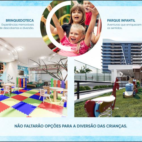 Brinquedoteca e parque